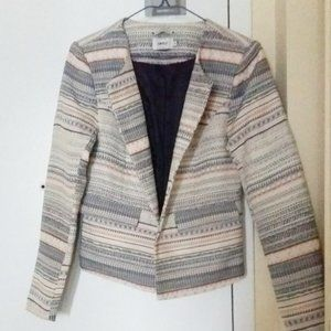 ONLY Jaquard blazer in size small